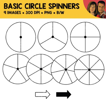 Basic Circle Spinners Clipart