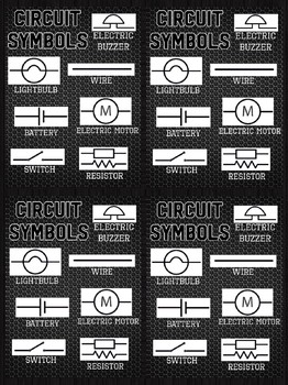 Basic Circuit Symbols - Electricity