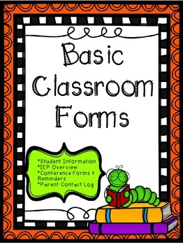 Basic Classroom Forms
