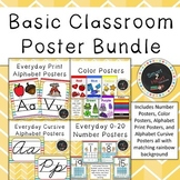 Basic Classroom Poster Bundle