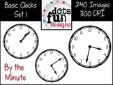 Basic Clocks By the Minute Set 1