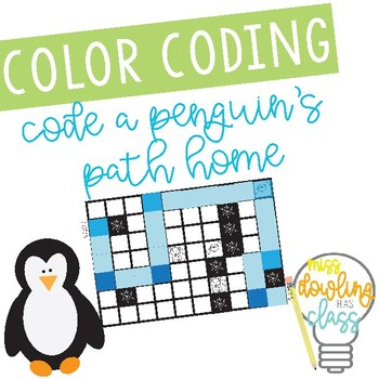 Basic Coding Puzzle Activity: Penguin Path Home