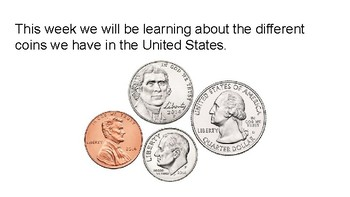 Basic Coin Identification Lesson