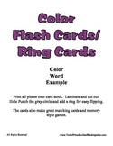 Basic Color Ring Cards - 12 Colors - Easy to Make - Presch