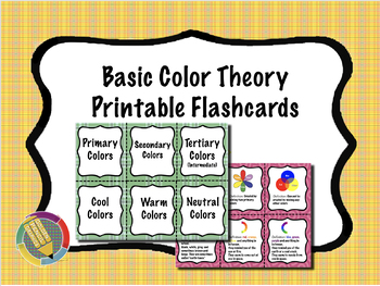Basic Color Theory Flash Cards