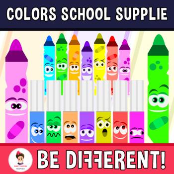 Basic Colors Art Clipart