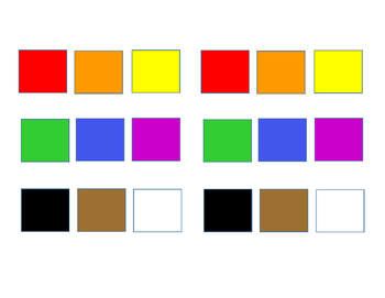 Basic Colors Book