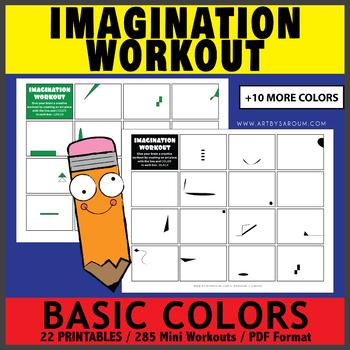 Basic Colors Imagination Workout Printables