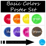 Basic Colors Poster Set