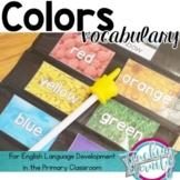 Basic Colors Vocabulary Unit