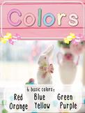 Basic Colors for ESL kids