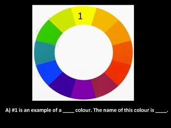 Basic Colour Theory Quiz