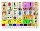 Photo Communication AAC Board for Core Words
