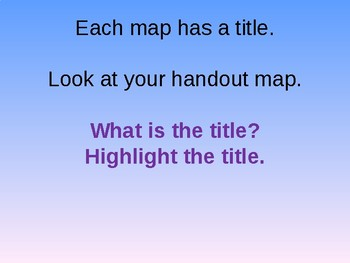 Basic Components of a World Map Powerpoint
