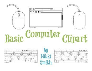 Basic Computer Clipart