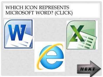Basic Computer Skills Quiz {PowerPoint Interactive Quiz}