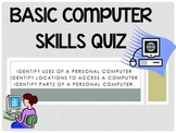 Basic Computer Skills Quiz {PowerPoint Interactive Quiz}