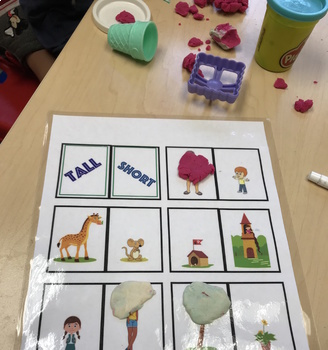 Basic Concept Binder Rings For Speech Therapy