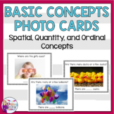 Basic Concept Cards for Speech Therapy