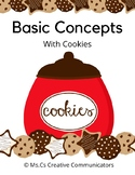 Basic Concept Cards with Cookies