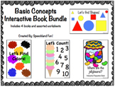 Basic Concept Interactive Book Bundle
