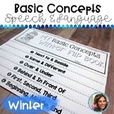 Basic Concepts | Speech and Language Therapy | Winter Speech and Language