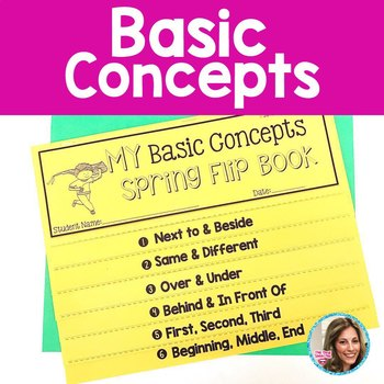Basic Concepts | Spring Speech and Language Activities