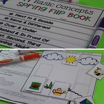 Basic Concepts   Spring Speech and Language Activities