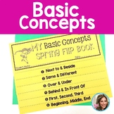 Basic Concepts | Spring Speech Therapy | Preschool Language Activities