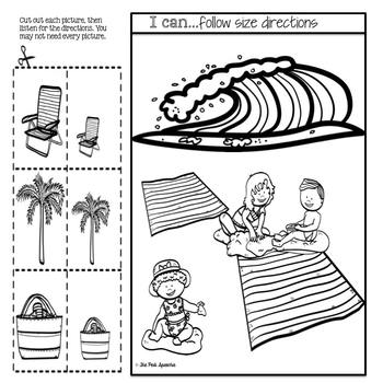 Summer Speech Therapy | Basic Concepts