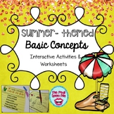 Summer Speech Therapy   Basic Concepts
