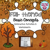 Basic Concepts | Speech and Language Therapy | Fall Theme