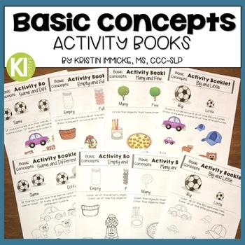 No Prep Basic Concepts Activity Booklets (Set 1)