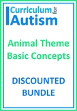 Basic Concepts Animal Theme Bundle Autism Special Education