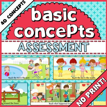 Basic Concepts Assessment.
