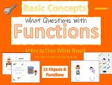 Basic Concepts:  Basic Functions Mini Interactive Book