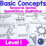 Basic Concepts Dot Dauber Art Beginner Level Following Directions Print and Go