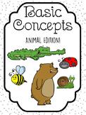 Basic Concepts - Big vs. Small Animal Edition