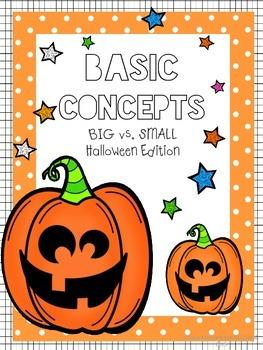 Basic Concepts - Big vs. Small Halloween Edition