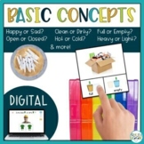 Basic Concepts | Speech Therapy Bundle
