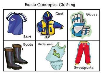 Basic Concepts: Clothing