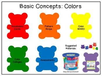 Basic Concepts: Colors