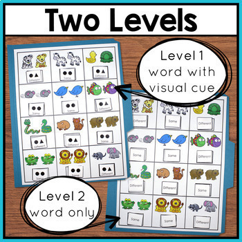 Basic Concepts File Folders Activities for Special Education and Autism BUNDLE