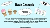 Basic Concepts-Freebie