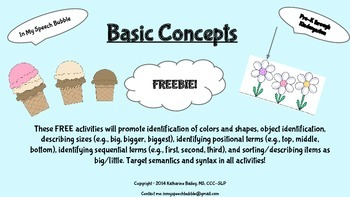 Basic Concepts-Freebie