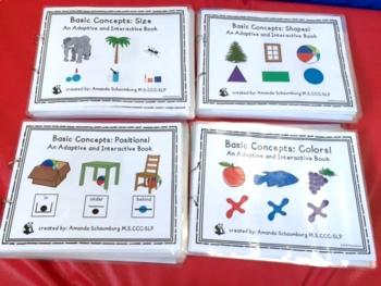 Basic Concepts Interactive Book BUNDLE! 4 Books!