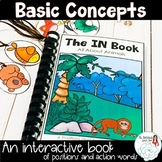 Basic Concepts Interactive Book: The In Book All About Animals