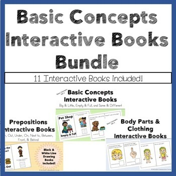 Basic Concepts Interactive Books Bundle
