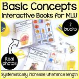 Basic Concepts MLU Interactive Books