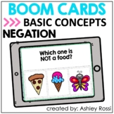 Basic Concepts NEGATION | Boom Cards™️ Speech Therapy Dist